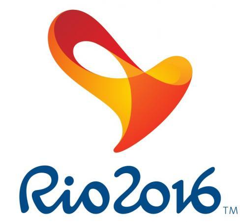 Paralympics logga, en abstrakt form i rött, orange ocg gult.