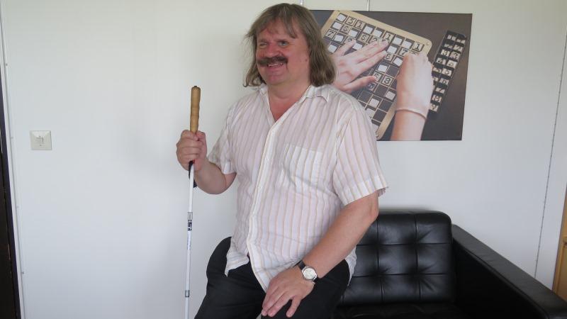En leende Håkan Thomsson.