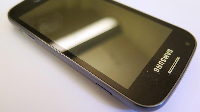 Bild på mobiltelefon
