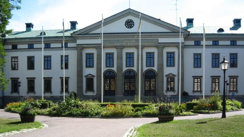 Bild på Landstingshuset.