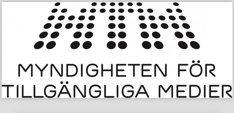 MTM:s logga, där små punkter formar bokstäver.