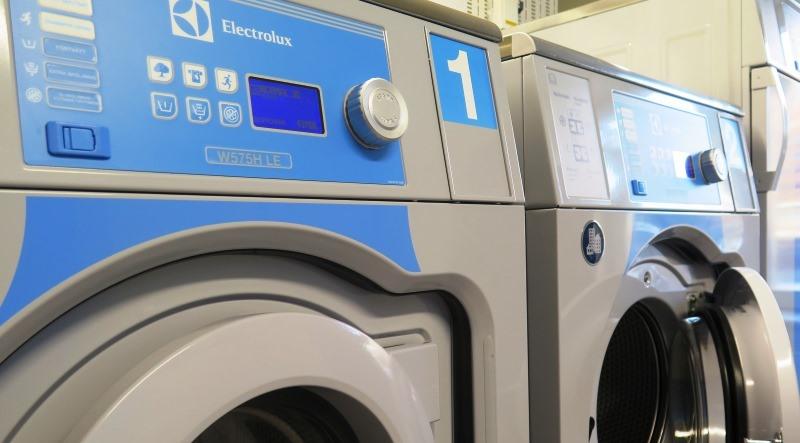 Bild på tvättmaskiner