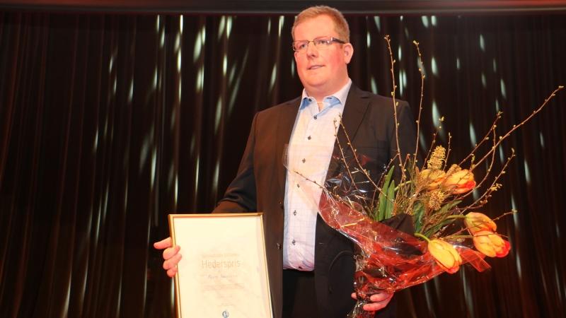 Hederpristagaren Björn Svantesson