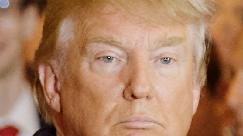 Bild på Donald Trump. Foto: Michael Vadon