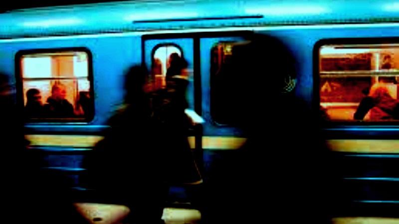 Bild från tunnelbanan.